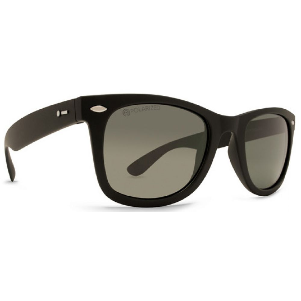 ドットダッシュ Dot Dash メンズ メガネ・サングラス 【Plimsoul Sunglasses】Black Satin/Grey Poly Polarized Lens