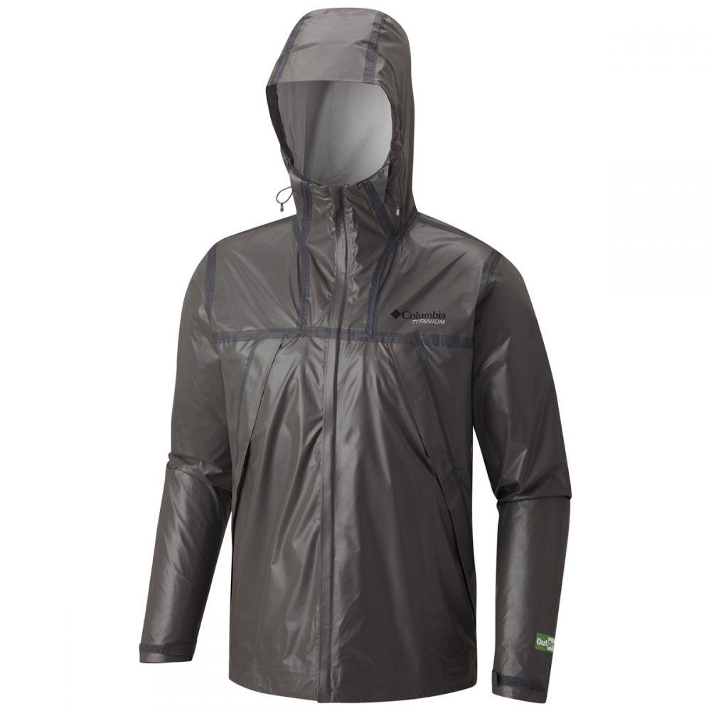 コロンビア Columbia メンズ レインコート シェルジャケット アウター【OutDry Ex Eco Tech Shell Rain Jacket】Bamboo/Charcoal