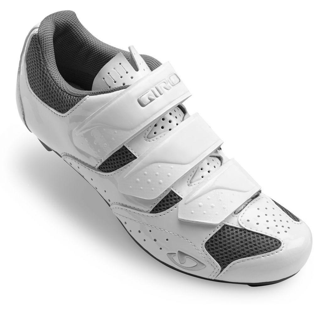 ジロ レディース 自転車 シューズ・靴 White/Silver 【サイズ交換無料】 ジロ Giro レディース 自転車 シューズ・靴【Techne Bike Shoes】White/Silver