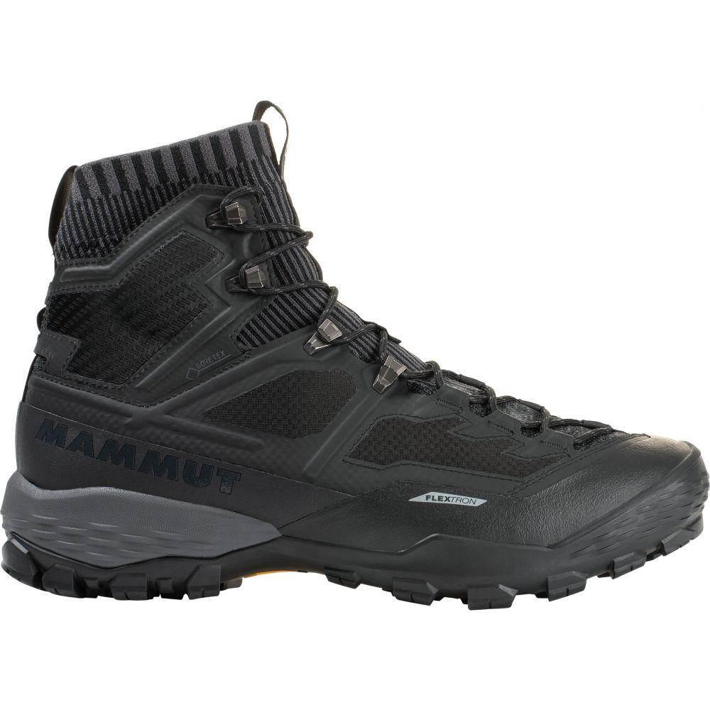 マムート Mammut メンズ ハイキング・登山 シューズ・靴【Duncan Knit High Gore-Tex Hiking Shoes】黒/Titanium