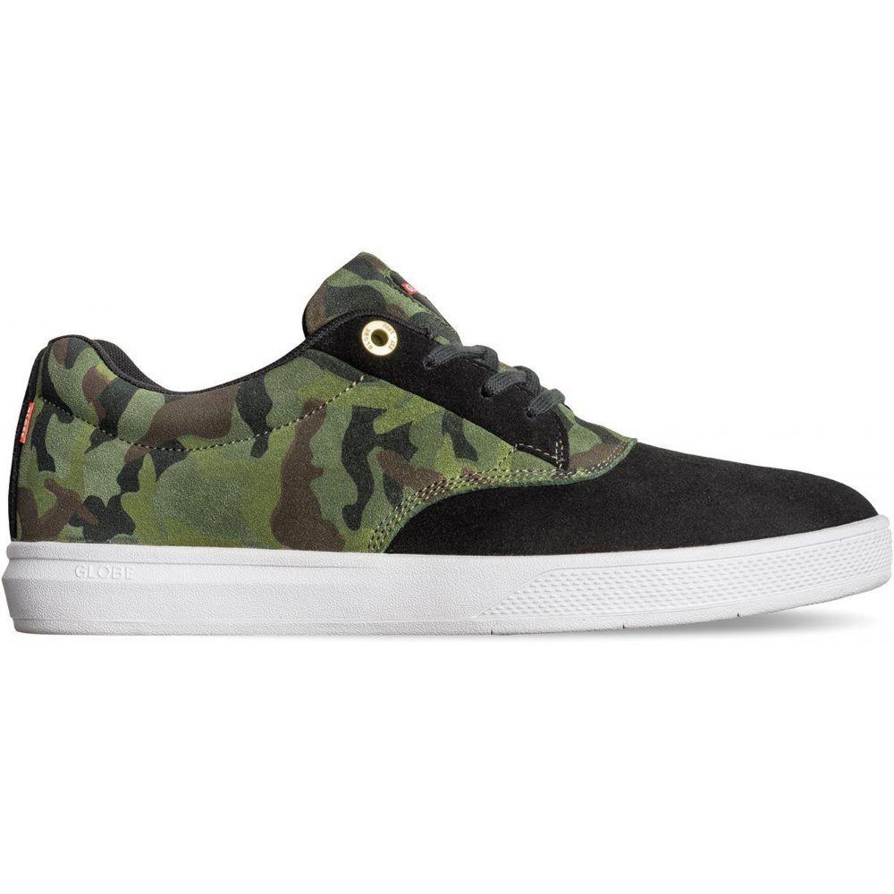 グローブ Globe メンズ スケートボード シューズ・靴【Eagle SG Skate Shoes】Black/Green Camo