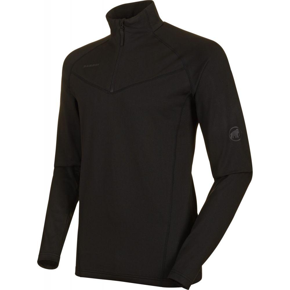マムート Mammut メンズ ジャケット ミッドレイヤー アウター【Snow Half-Zip Midlayer Jacket】Black