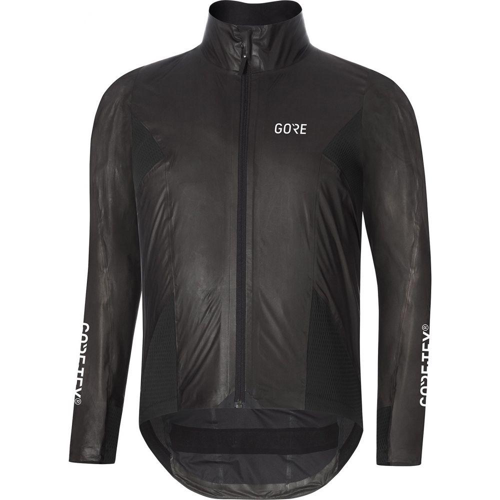 ゴア メンズ 自転車 アウター Black 【サイズ交換無料】 ゴア Gore メンズ 自転車 ジャケット アウター【Wear C7 Shakedry Stretch -Tex Bike Jacket】Black