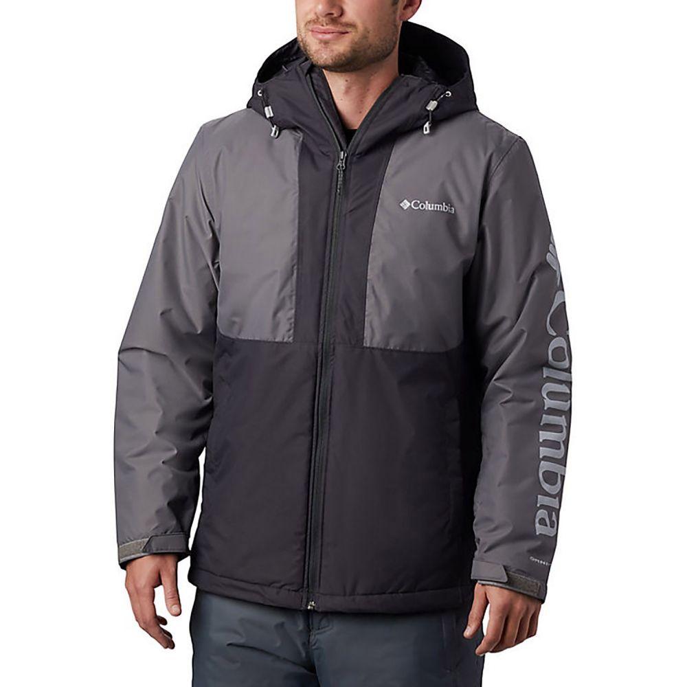 コロンビア Columbia メンズ スキー・スノーボード ジャケット アウター【Timberturner Ski Jacket】Shark/City Grey/Columbia Grey