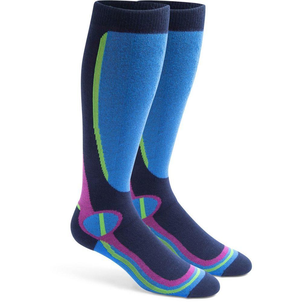 フォック スリバー Fox River レディース スキー・スノーボード ソックス【Taos Lightweight Socks】Light グレー/Navy
