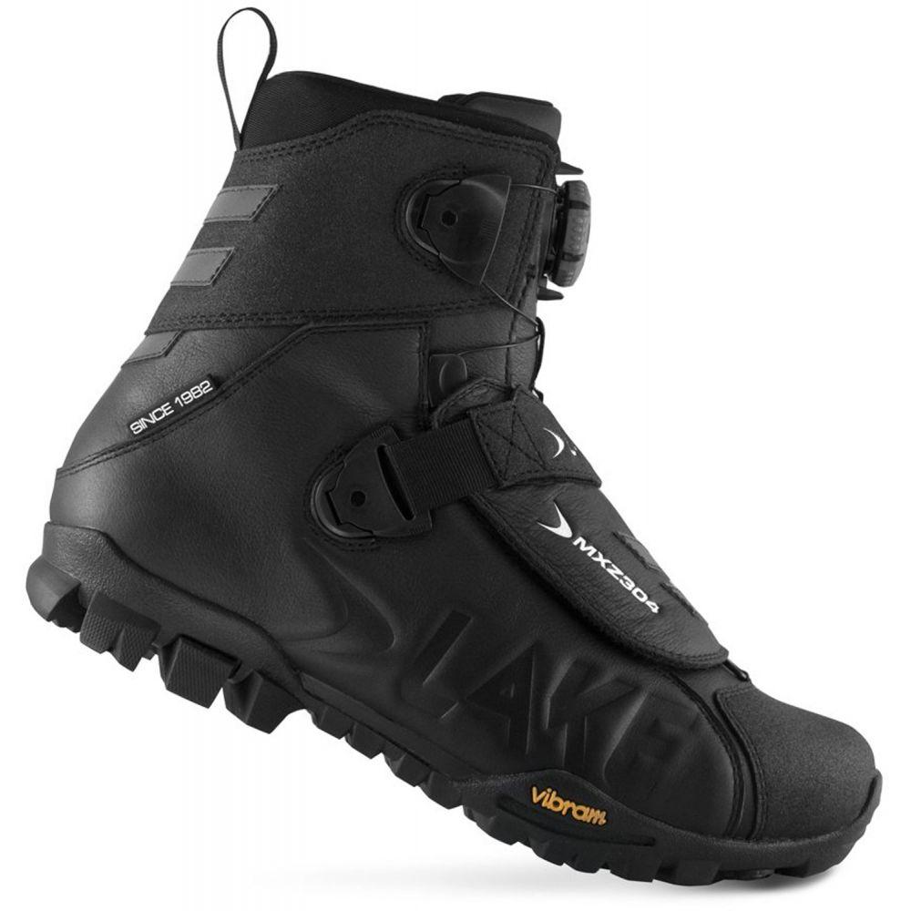 レイク Lake メンズ 自転車 シューズ・靴【MXZ304-X Wide Bike Shoes】Black/White