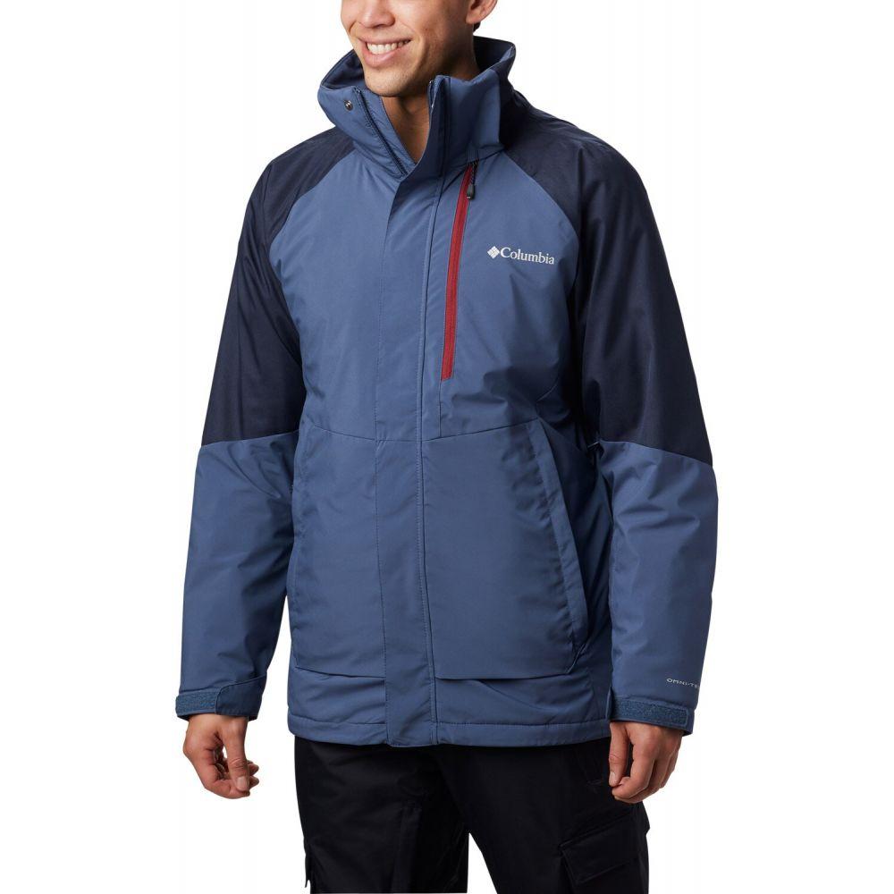 コロンビア Columbia メンズ スキー・スノーボード ジャケット アウター【Wildside Ski Jacket】Dark Mountain/Collegiate Navy Heather/Red Jasper