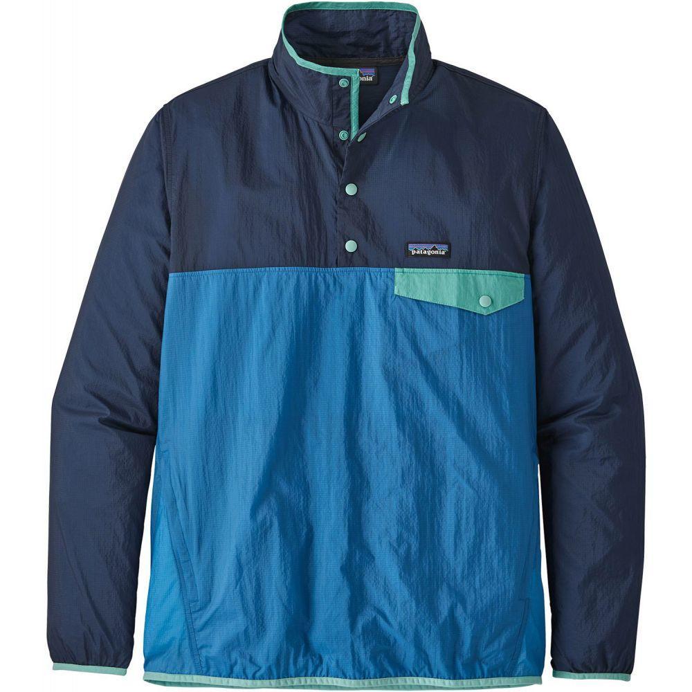 パタゴニア Patagonia メンズ ジャケット アウター【Houdini Snap-T Pullover Jacket】Port Blue
