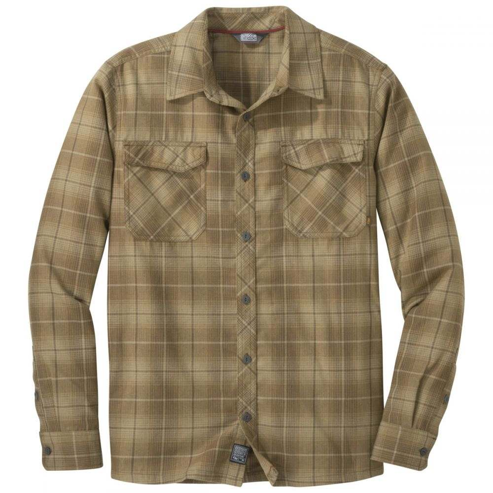 アウトドアリサーチ Outdoor Research メンズ シャツ トップス【Tangent II L/S Shirt】Carob Plaid