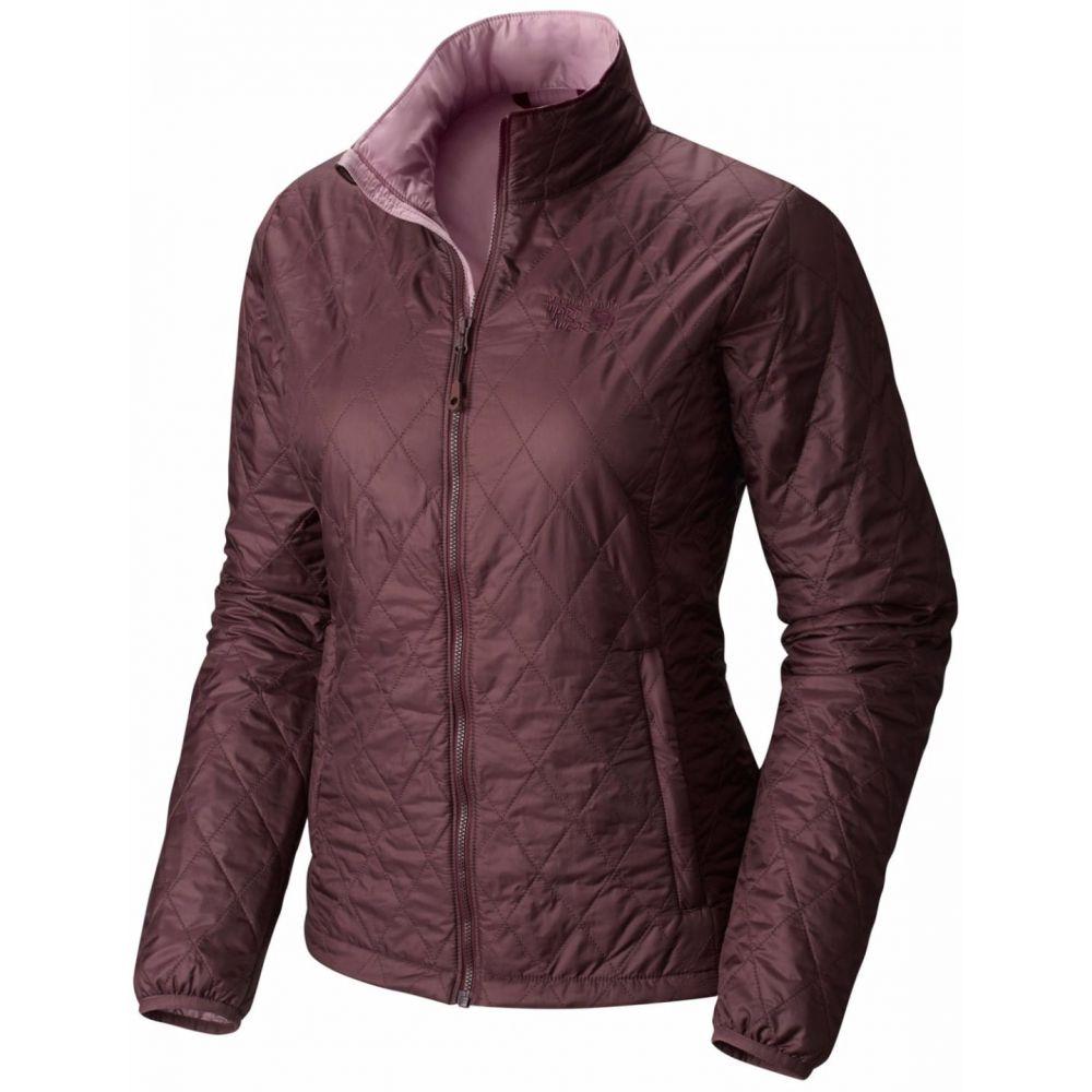 マウンテンハードウェア Mountain Hardwear レディース ジャケット アウター【Thermostatic Jacket】Purple Plum