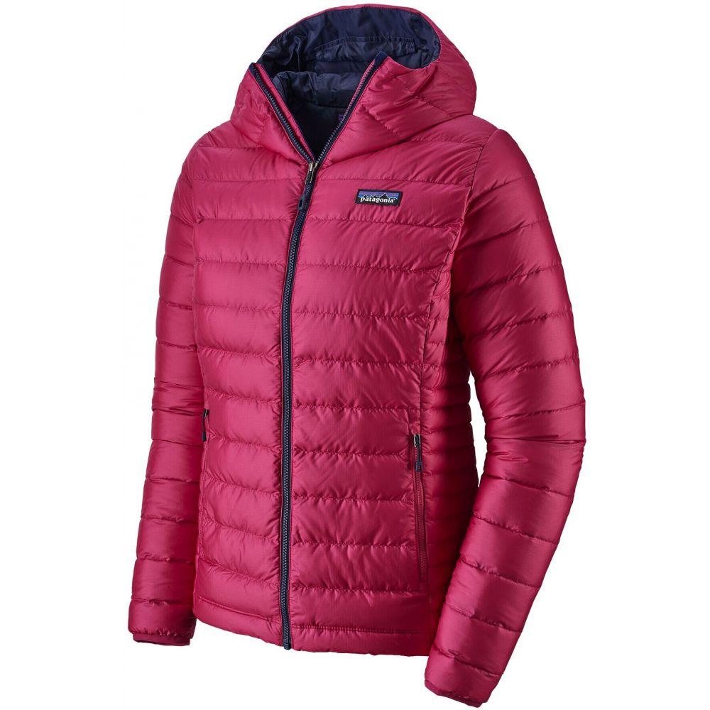 パタゴニア Patagonia レディース ダウン・中綿ジャケット アウター【Down Sweater Hoodie Jacket】Craft Pink/Classic Navy