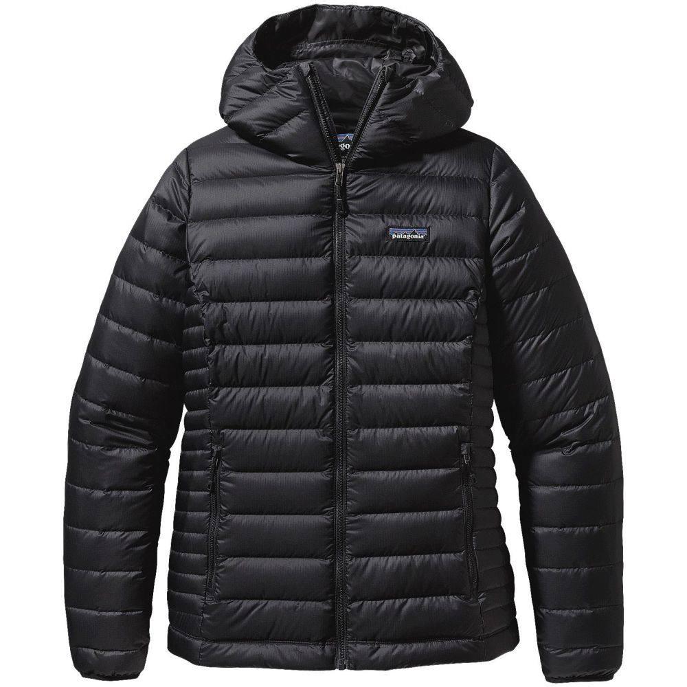 パタゴニア Patagonia レディース ダウン・中綿ジャケット アウター【Down Sweater Hoodie Jacket】Black