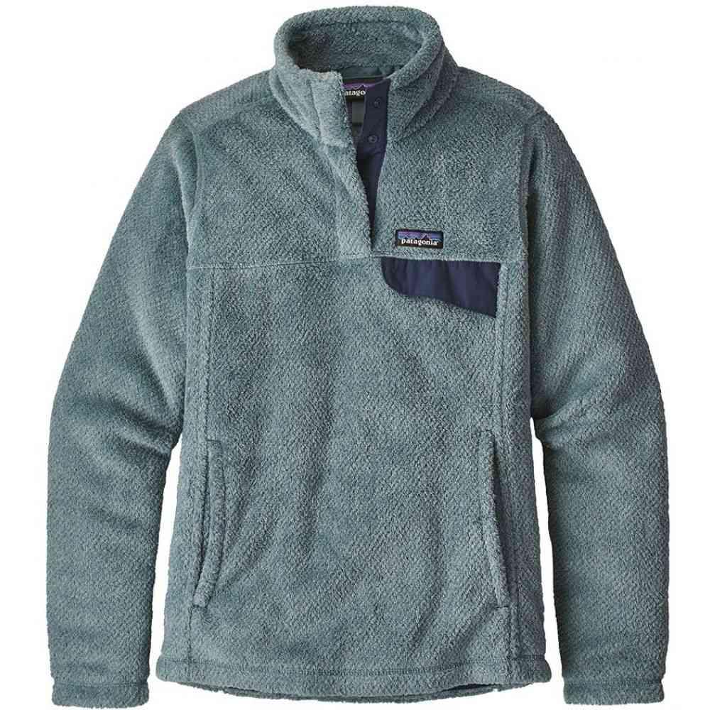 パタゴニア Patagonia レディース フリース トップス【Re-Tool Snap-T Pullover Fleece】Shadow Blue/Cadet Blue X-Dye