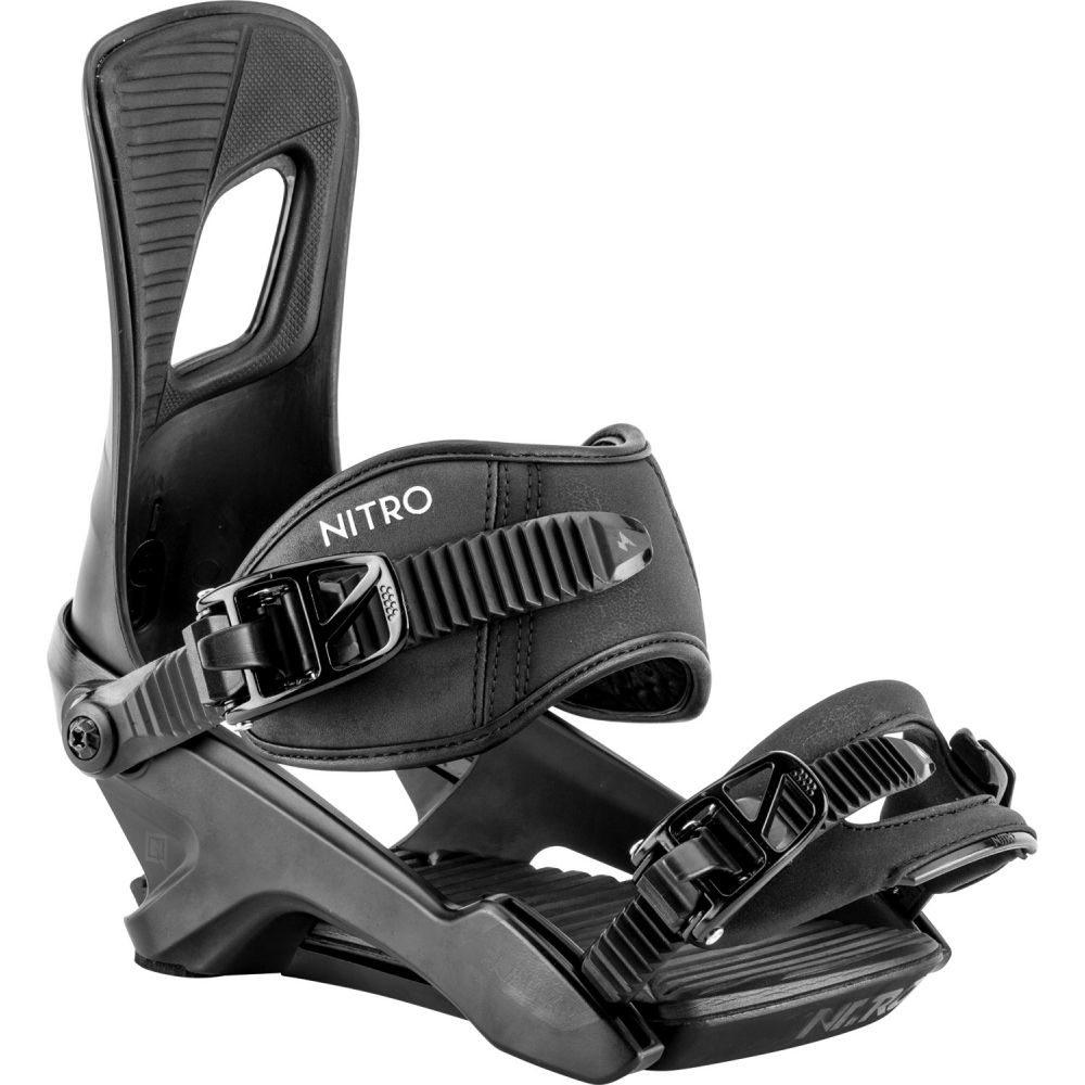 ニトロ Nitro メンズ スキー・スノーボード ビンディング【Rambler SFU Snowboard Bindings 2020】Ultra Black