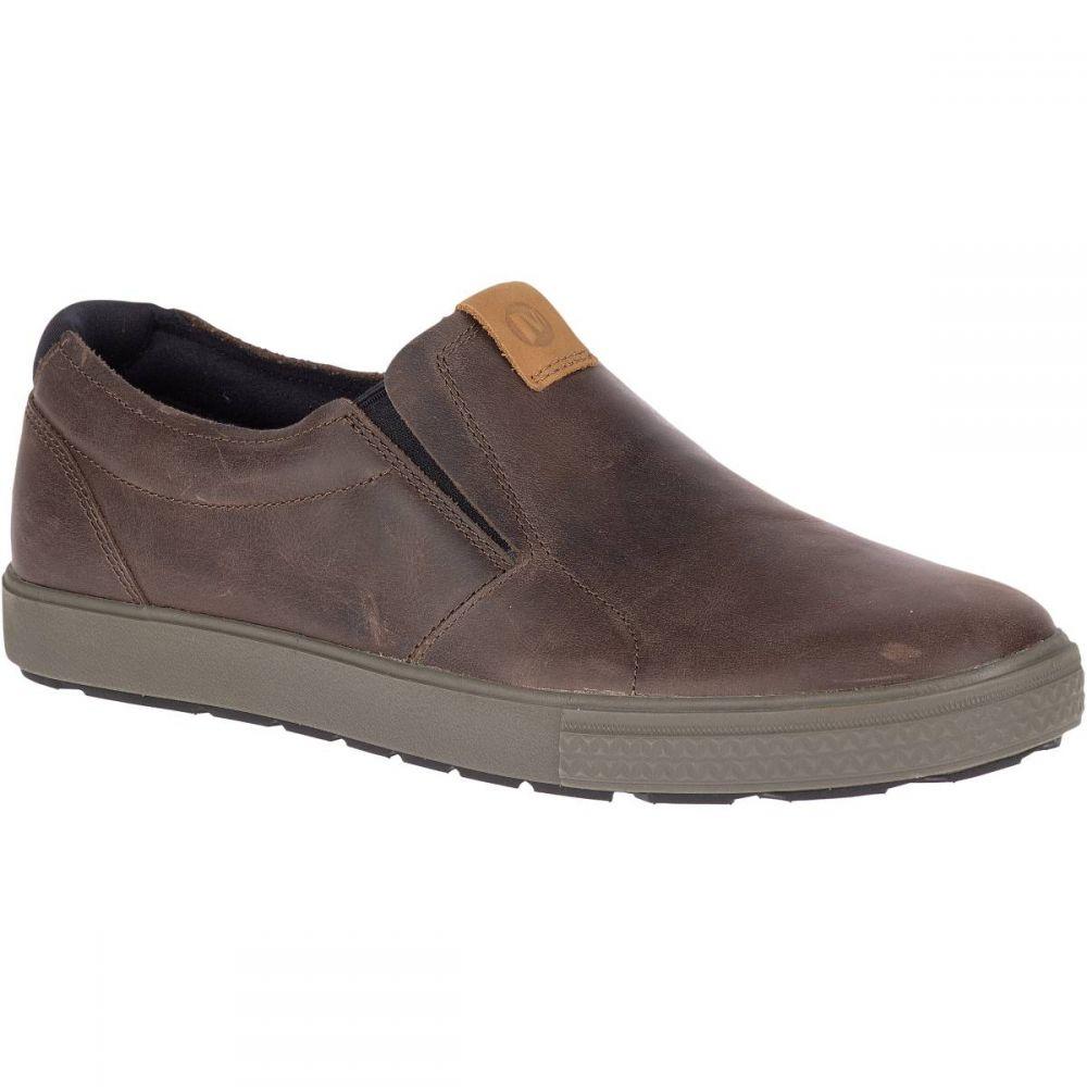メレル Merrell メンズ スリッポン・フラット シューズ・靴【Barkley Moc Shoes】Brunette