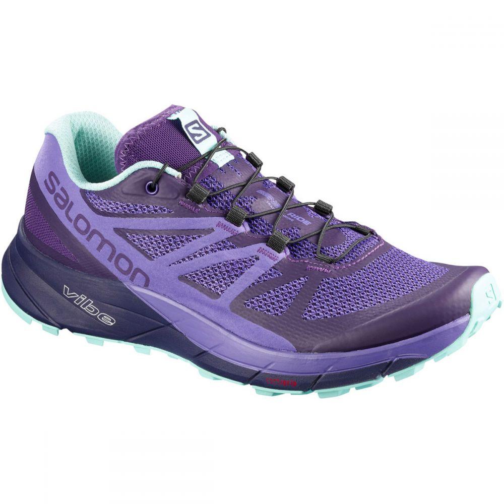 サロモン Salomon レディース ランニング・ウォーキング シューズ・靴【Sense Ride Trail Running Shoes】Parachute Purple