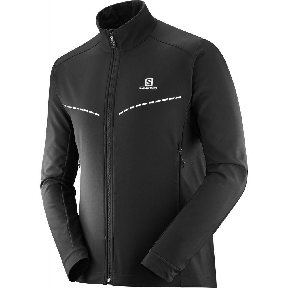 サロモン Salomon メンズ スキー・スノーボード ソフトシェルジャケット アウター【Agile Softshell XC Ski Jacket】Black