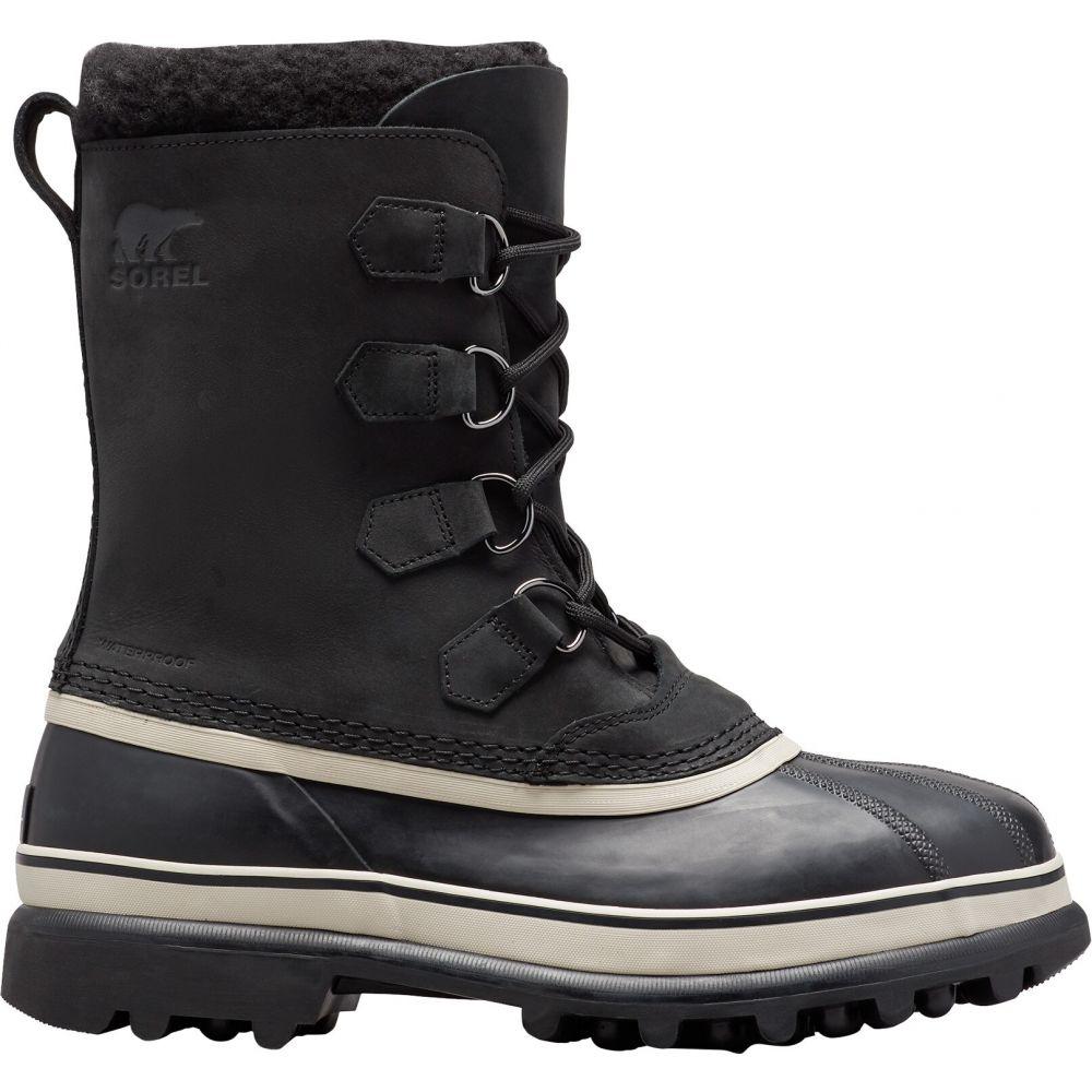 ソレル Sorel メンズ ブーツ シューズ・靴【Caribou Boots】Black/Dark Stone