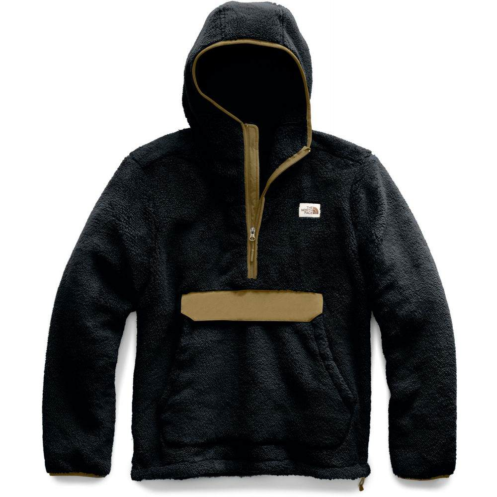 ザ ノースフェイス The North Face メンズ フリース トップス【Campshire Pullover Hoodie Fleece】TNF Black/British Khaki