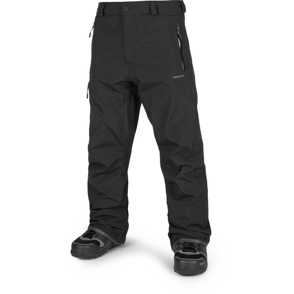 ボルコム Volcom メンズ スキー・スノーボード ボトムス・パンツ【L Gore-Tex Snowboard Pants 2020】Black