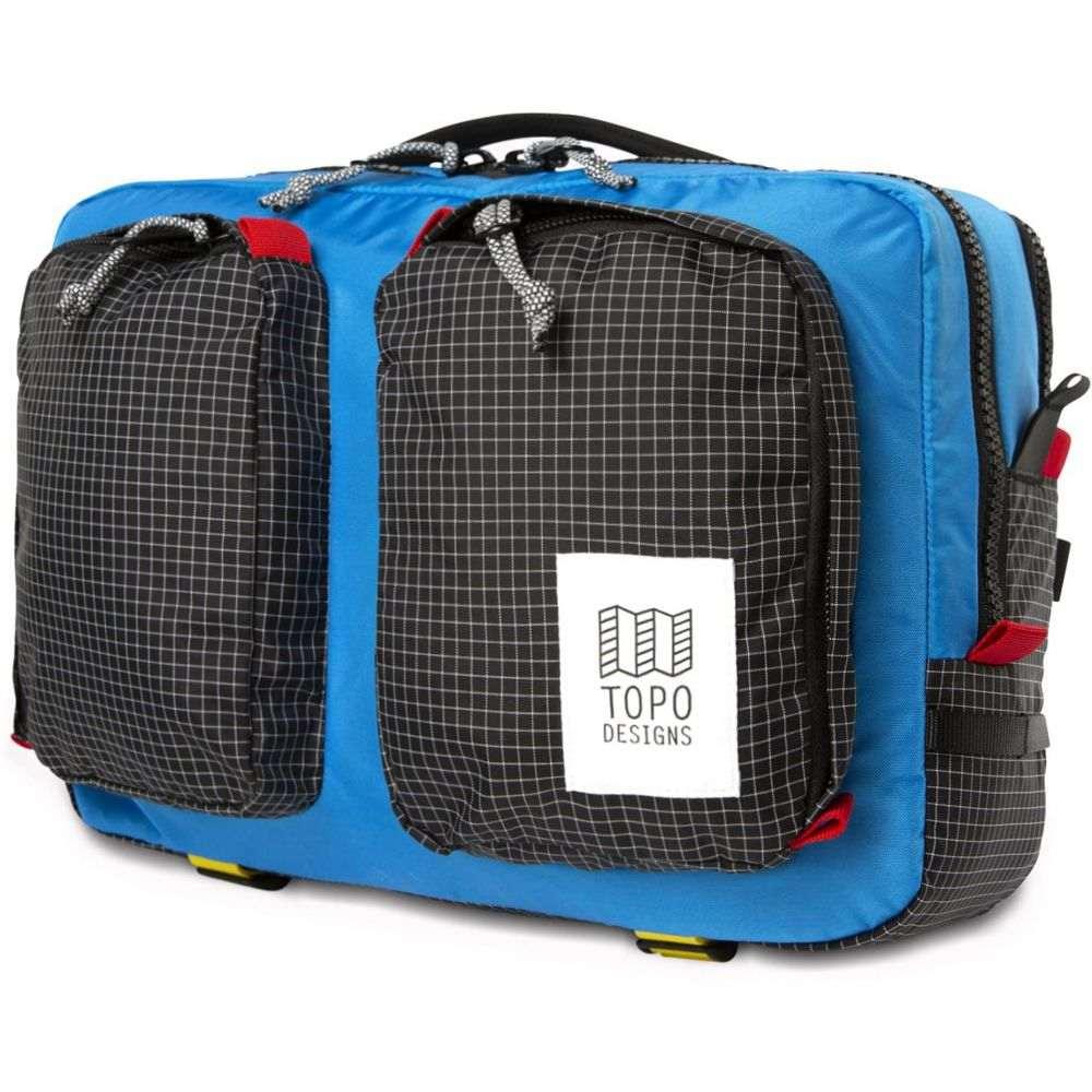 トポ デザイン Topo Designs メンズ ビジネスバッグ・ブリーフケース バッグ【Global Briefcase Bag】Blue/Black Ripstop