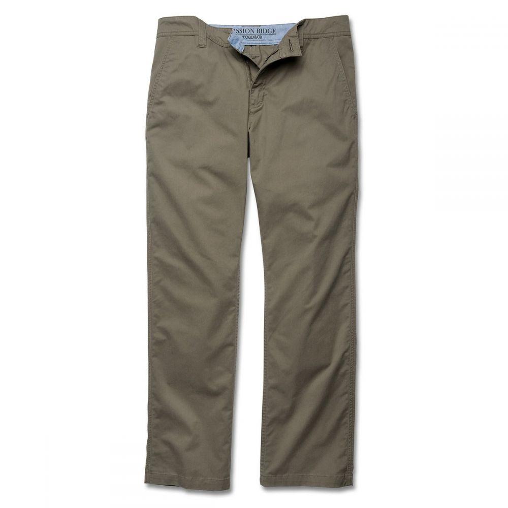 トードアンドコー Toad & Co メンズ ボトムス・パンツ 【Mission Ridge 30in Pants】Dark Chino
