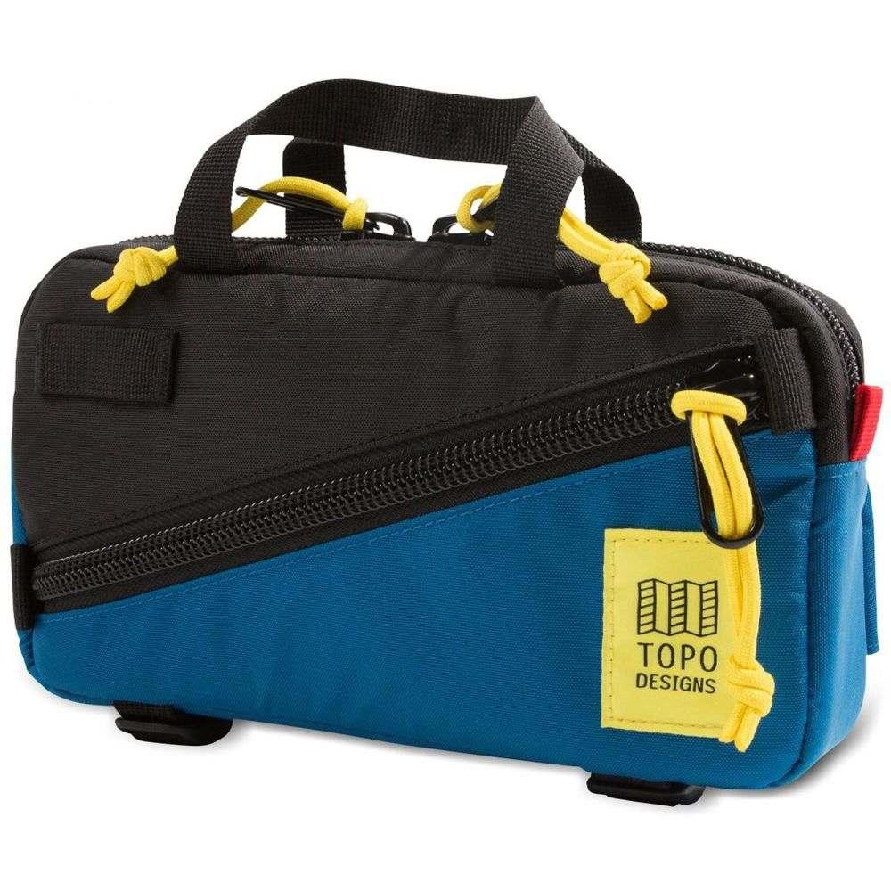 トポ デザイン Topo Designs メンズ ボディバッグ・ウエストポーチ ウエストバッグ バッグ【Mini Quick Waistpack】Black/Blue