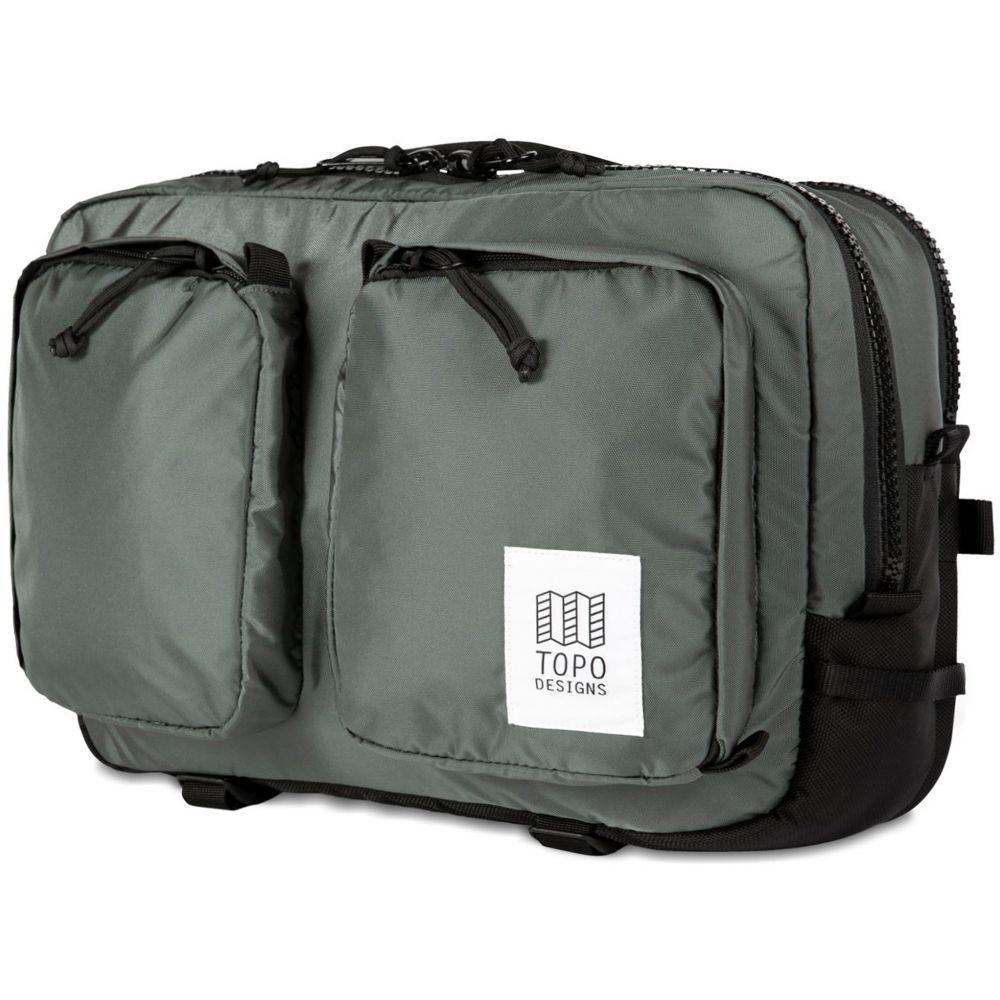 トポ デザイン Topo Designs メンズ ビジネスバッグ・ブリーフケース バッグ【Global Briefcase Bag】Charcoal