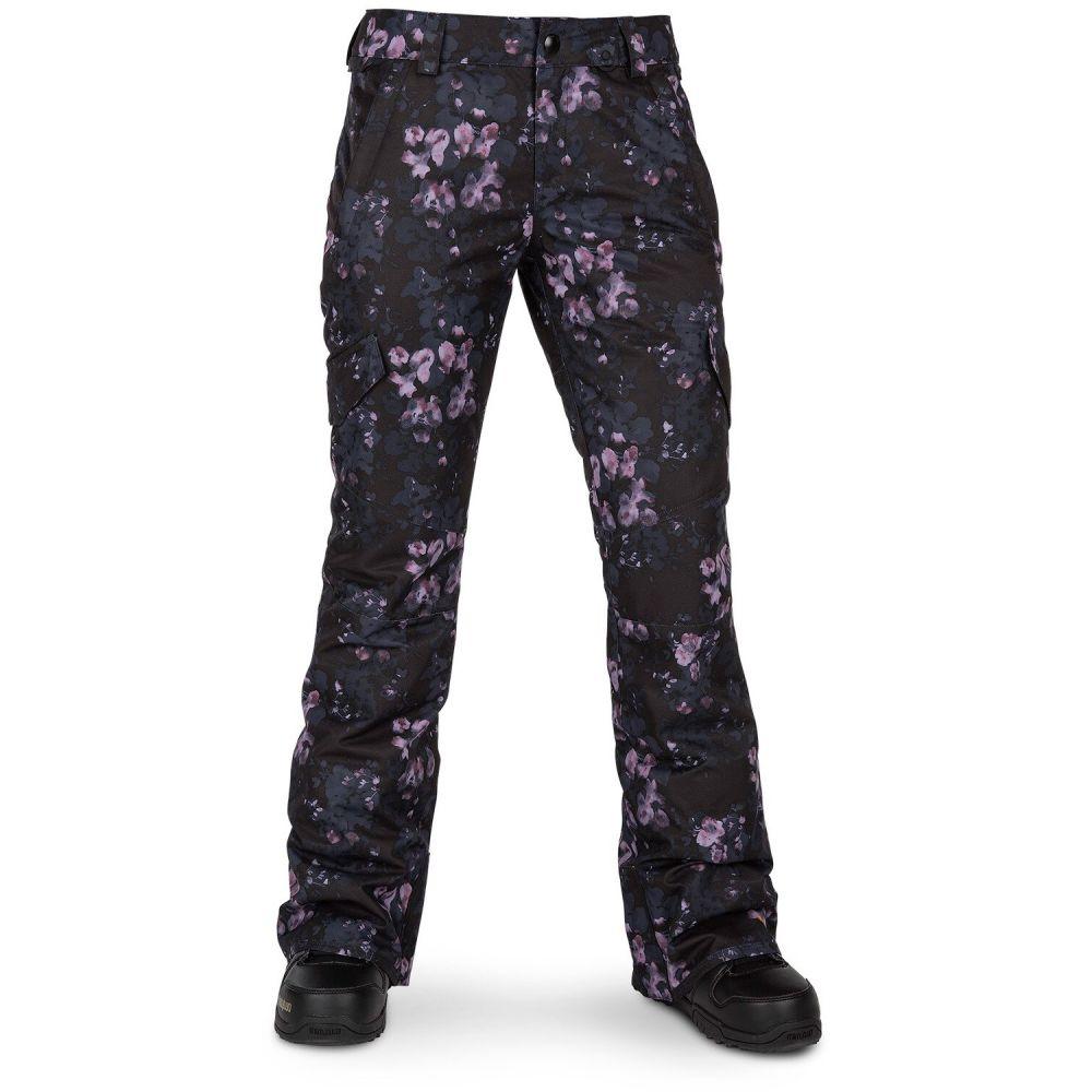 ボルコム Volcom レディース スキー・スノーボード ボトムス・パンツ【Bridger Insulated Snowboard Pants 2020】Black Floral Print