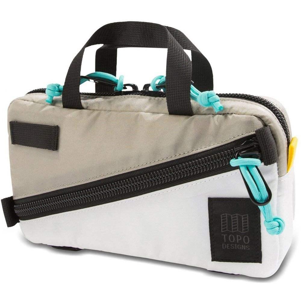 トポ デザイン Topo Designs メンズ ボディバッグ・ウエストポーチ ウエストバッグ バッグ【Mini Quick Waistpack】Silver/White