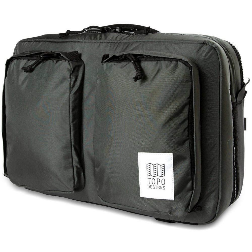 トポ デザイン Topo Designs メンズ ビジネスバッグ・ブリーフケース バッグ【Global Briefcase 3-Day Bag】Charcoal