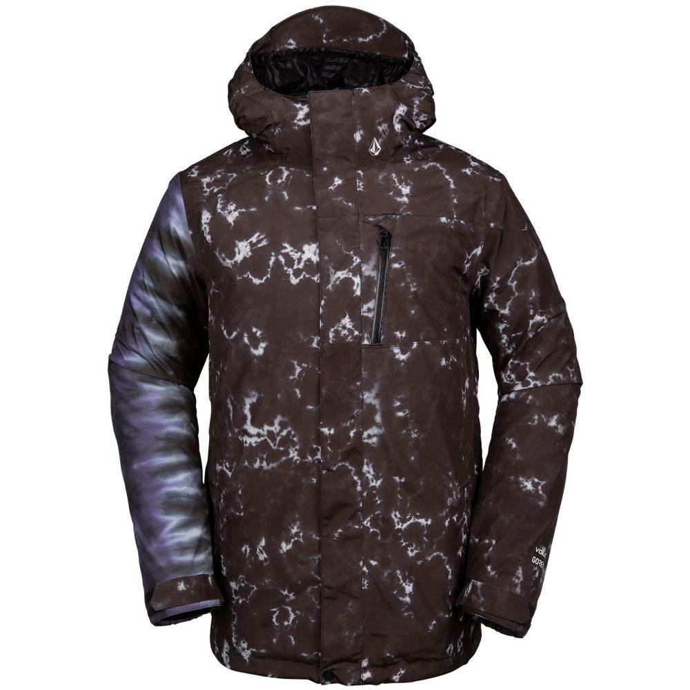 ボルコム Volcom メンズ スキー・スノーボード ジャケット アウター【L Gore-Tex Snowboard Jacket 2020】Black Print