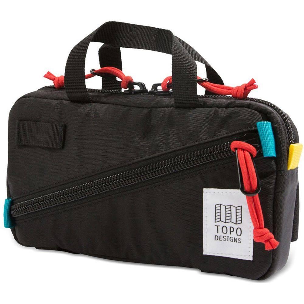 トポ デザイン Topo Designs メンズ ボディバッグ・ウエストポーチ ウエストバッグ バッグ【Mini Quick Waistpack】Black/Black