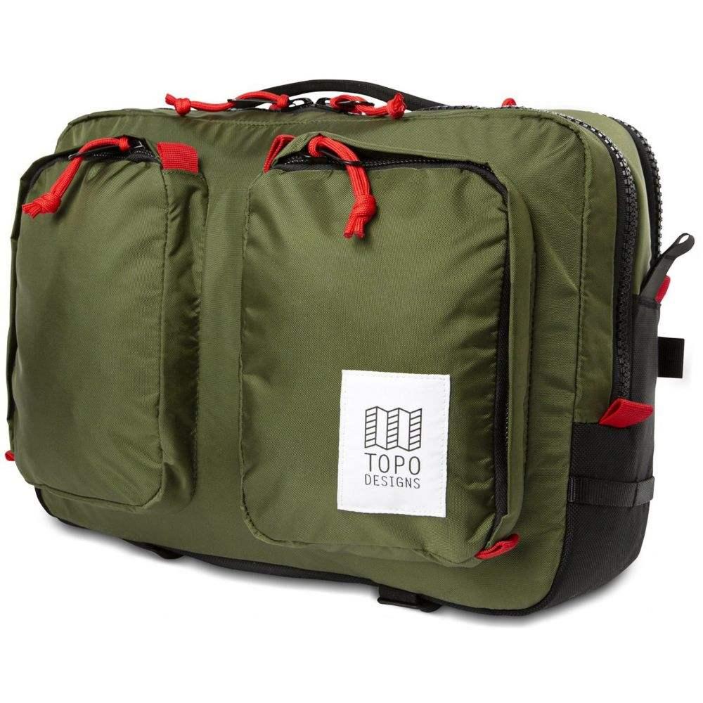 トポ デザイン Topo Designs メンズ ビジネスバッグ・ブリーフケース バッグ【Global Briefcase Bag】Olive