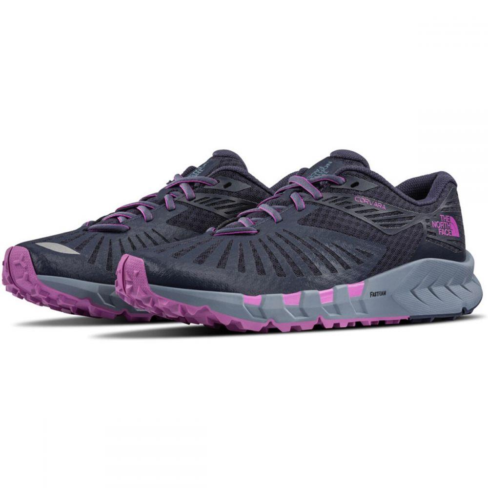 ザ ノースフェイス The North Face レディース ランニング・ウォーキング シューズ・靴【Corvara Trail Running Shoes】Peacoat Navy/Purple Cactus Flower