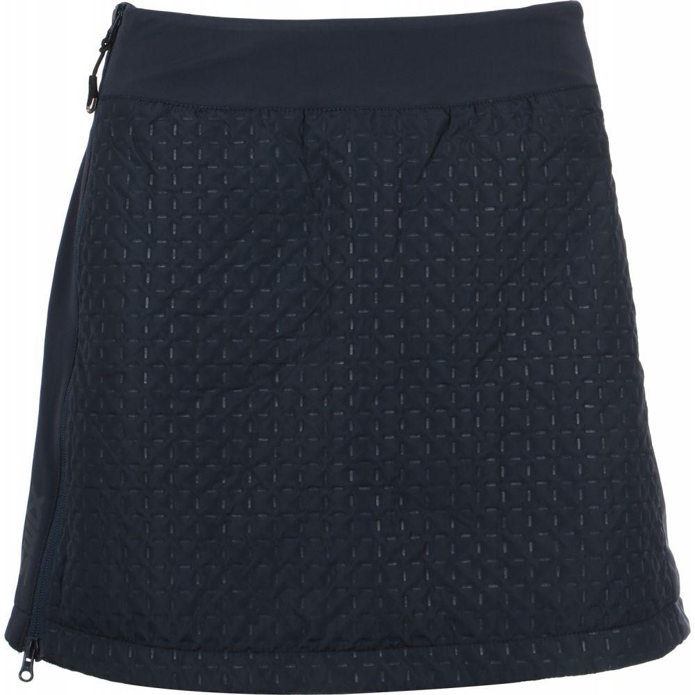 スウィックス Swix レディース スカート 【Menali Quilted Skirt】Dark Navy