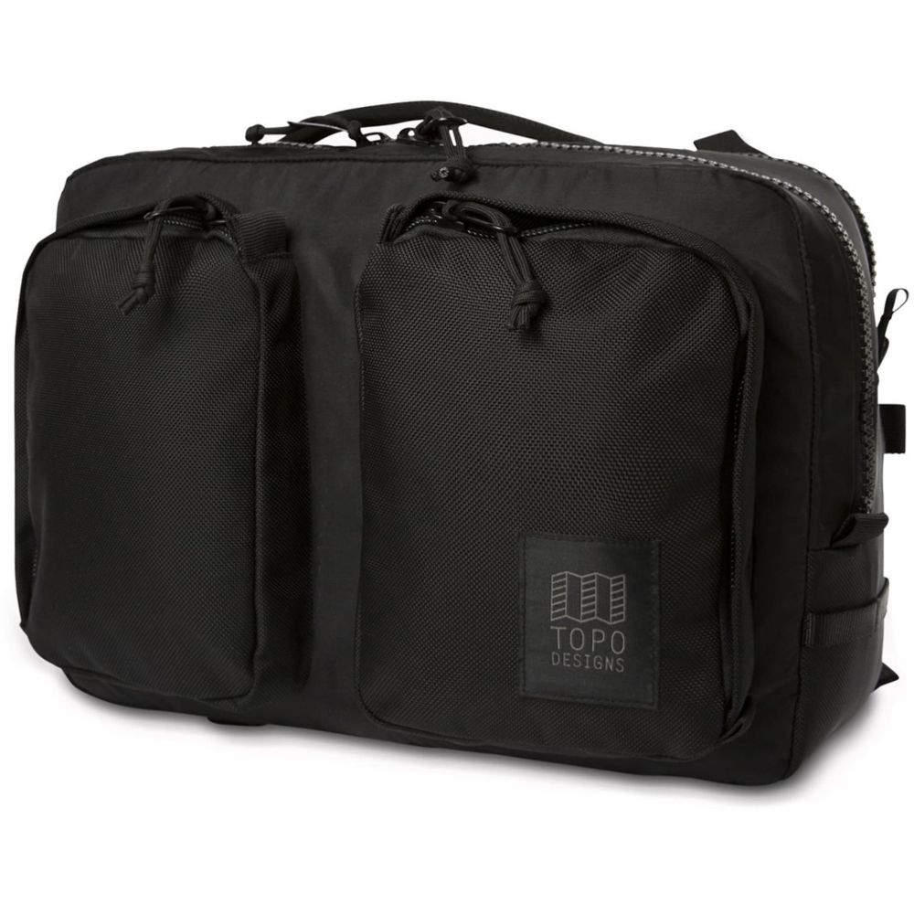 トポ デザイン Topo Designs メンズ ビジネスバッグ・ブリーフケース バッグ【Global Briefcase Bag】Ballistic Black