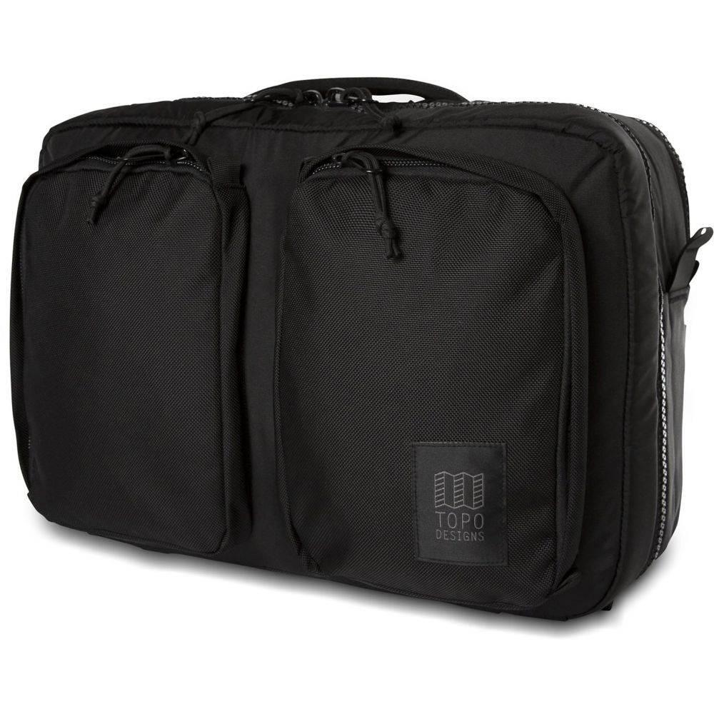 トポ デザイン Topo Designs メンズ ビジネスバッグ・ブリーフケース バッグ【Global Briefcase 3-Day Bag】Ballistic Black