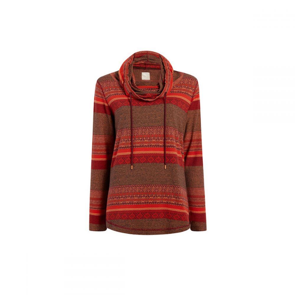 ウールリッチ Woolrich レディース チュニック トップス【Mile Run Cowl Tunic Shirt】Red Clay