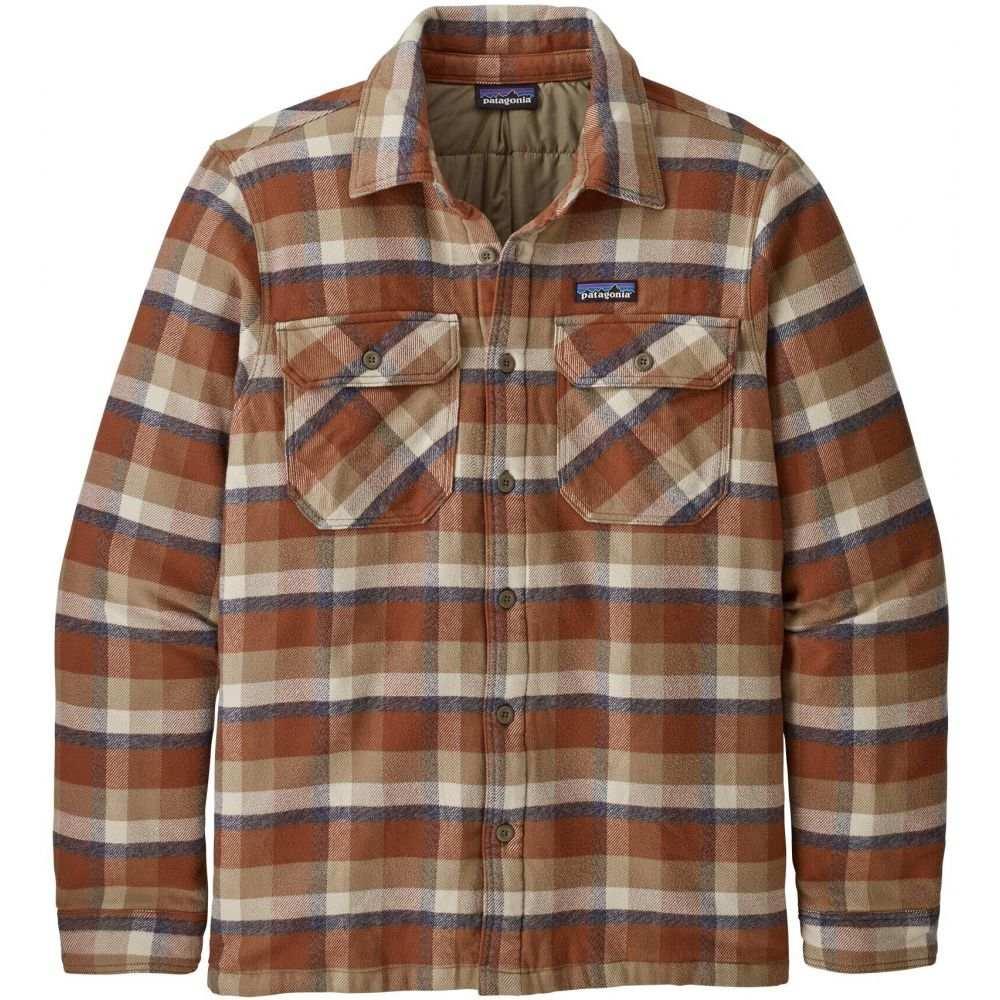 パタゴニア Patagonia メンズ ジャケット アウター【Insulated Fjord Flannel Jacket】Observer/Mojave Khaki