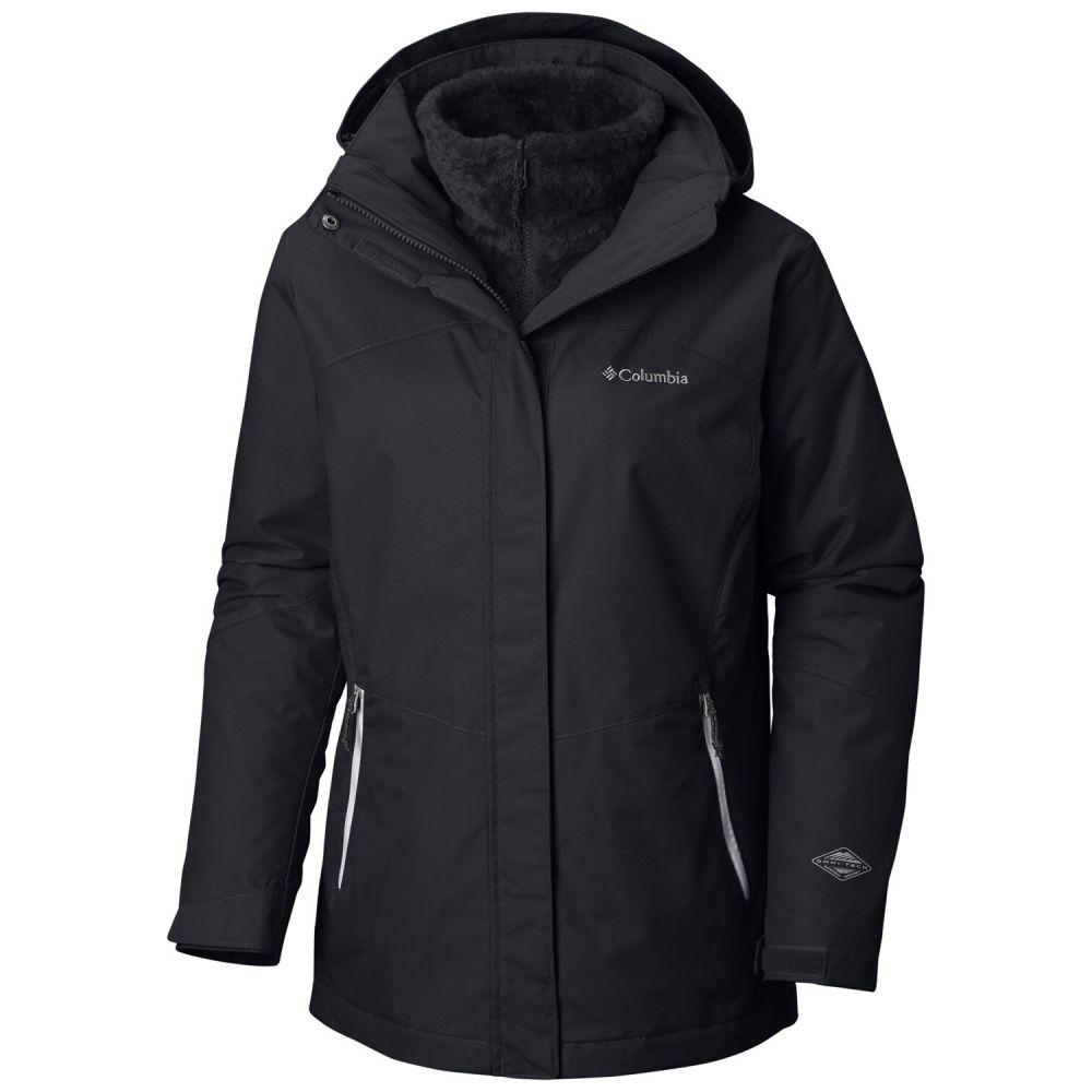 コロンビア レディース スキー・スノーボード アウター Black 【サイズ交換無料】 コロンビア Columbia レディース スキー・スノーボード ジャケット アウター【Bugaboo II Fleece Interchange Extended SZ Ski Jacket】Black