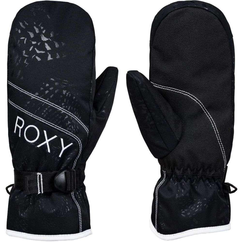 ロキシー Roxy レディース スキー・スノーボード ミトン グローブ【Jetty Solid Mittens】True 黒