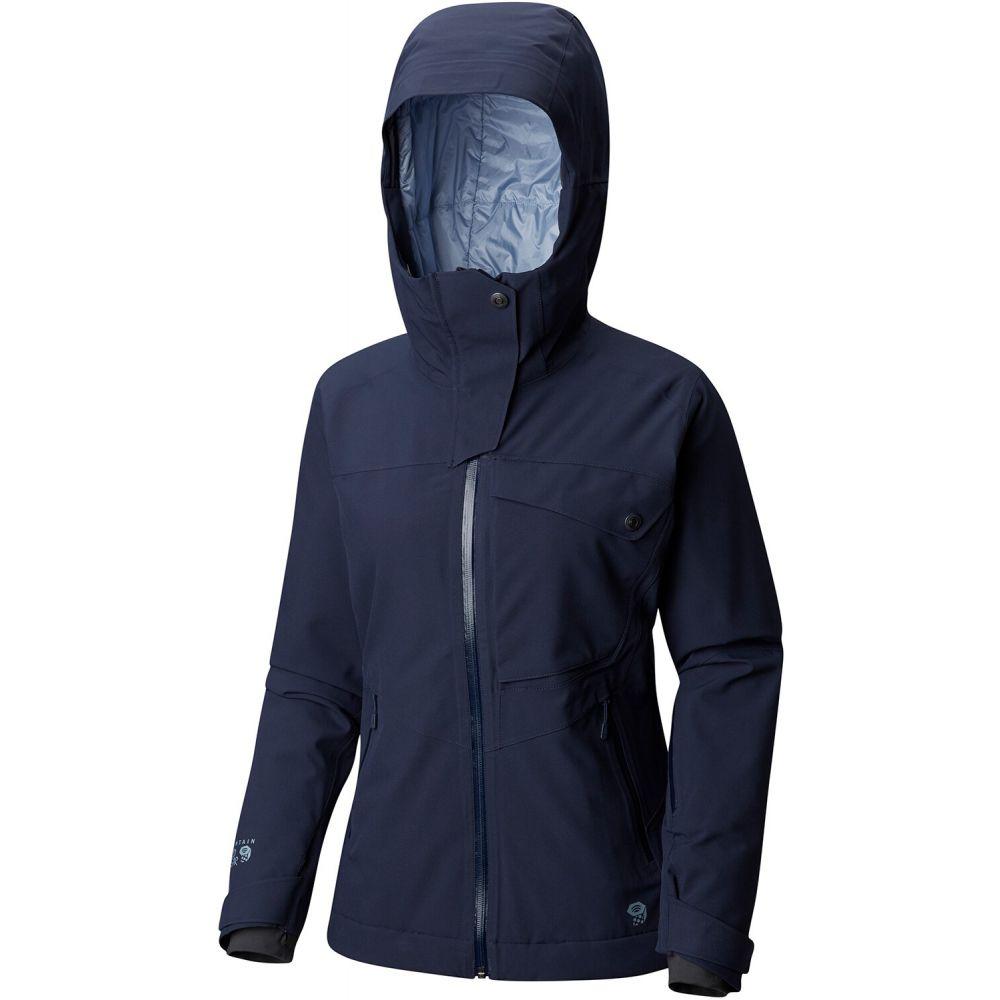 マウンテンハードウェア Mountain Hardwear レディース スキー・スノーボード ジャケット アウター【Maybird Insulated Ski Jacket】Dark Zinc
