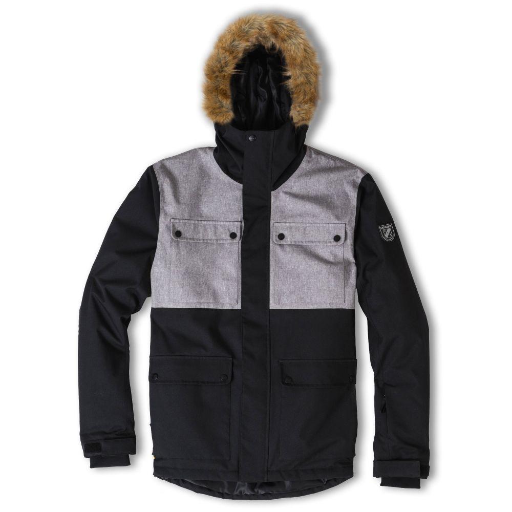 シャモニー Chamonix メンズ スキー・スノーボード コート ジャケット アウター【Chanaz Parka Snowboard Jacket 2020】Black/Grey