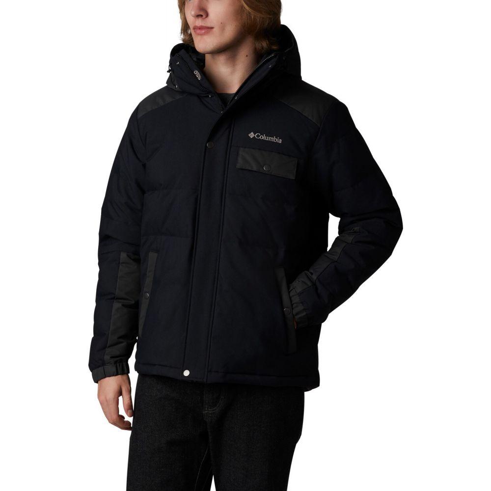 コロンビア Columbia メンズ ジャケット フード アウター【Winter Challenger Hooded Jacket】Black/Shark