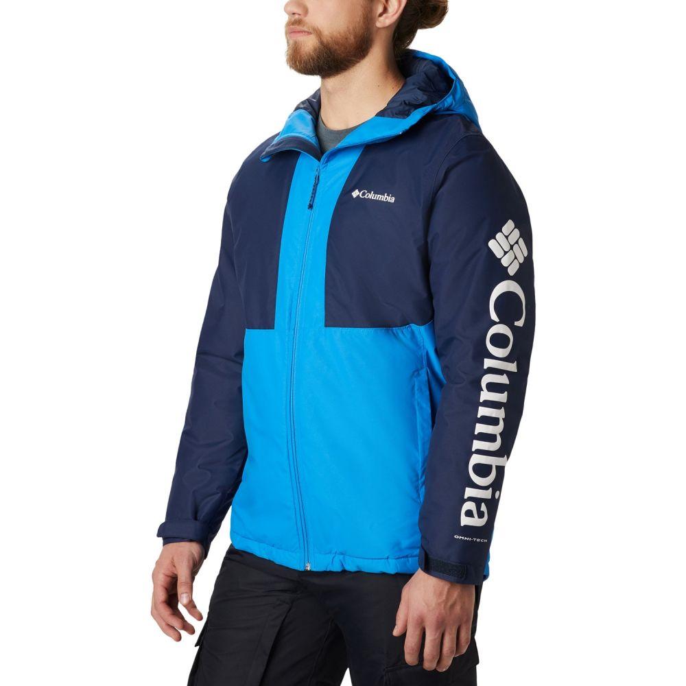 コロンビア Columbia メンズ スキー・スノーボード ジャケット アウター【Timberturner Snowboard Jacket 2020】Azure Blue/Collegiate Navy