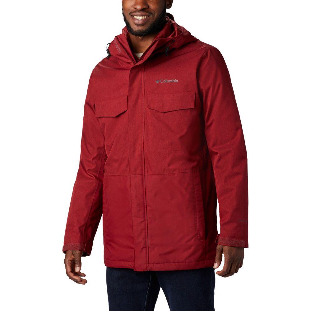 コロンビア Columbia メンズ スキー・スノーボード ジャケット アウター【Cushman Crest Interchange Snowboard Jacket 2020】Red Jasper Heather