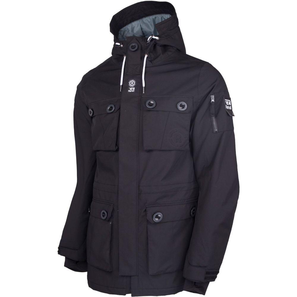 リホール Rehall メンズ スキー・スノーボード コート ジャケット アウター【Mike Parka Snowboard Jacket 2020】Black