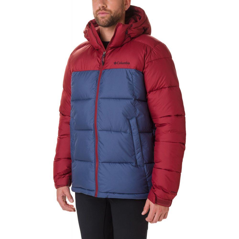 コロンビア Columbia メンズ スキー・スノーボード フード ジャケット アウター【Pike Lake Hooded Snowboard Jacket 2020】Dark Mountain/Red Jasper