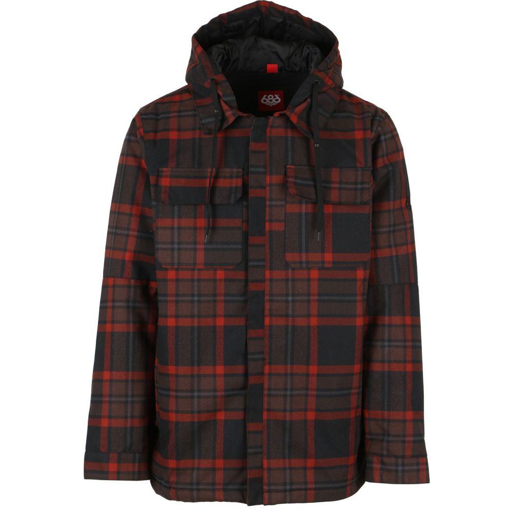 シックス エイト シックス 686 メンズ スキー・スノーボード ジャケット アウター【Workman Snowboard Jacket】Rusty Red